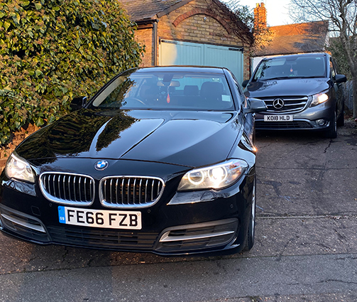 Alans Airport Cars Airport Transfer Vehicles